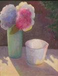 Still-life with Hydrangeas