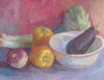 Still Life with Eggplant