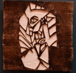 Self Portrait in Wood