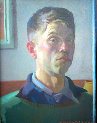 Henry Hensche: Self-Portrait