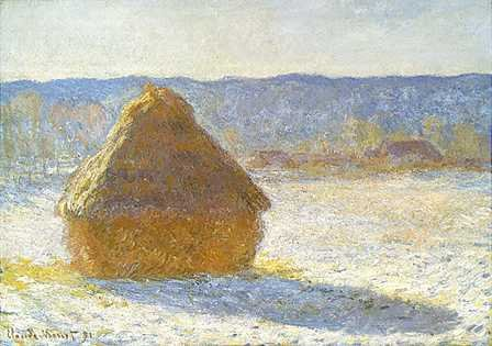 Monet: Morning Snow Effect